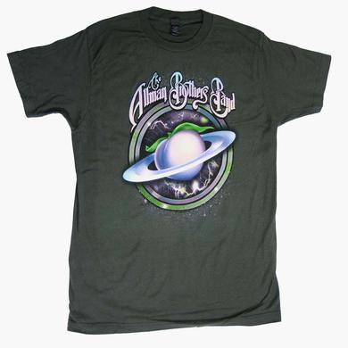 Allman Brothers T Shirt   Allman Brothers Space Peach Soft T-Shirt