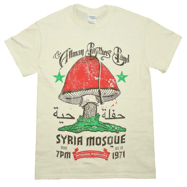 Allman Brothers T Shirt | Allman Brothers Syria Mosque T-Shirt