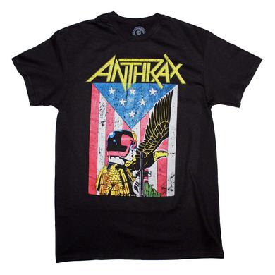 Anthrax T Shirt | Anthrax Dredd Eagle T-Shirt