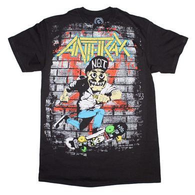 Anthrax T Shirt | Anthrax Skater Guy T-Shirt