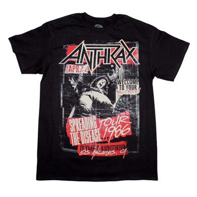 Anthrax T Shirt | Anthrax STD 86 T-Shirt