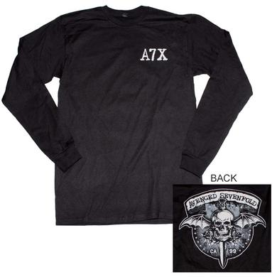 Avenged Sevenfold T Shirt | Avenged Sevenfold Biker Bat Long Sleeve T-Shirt