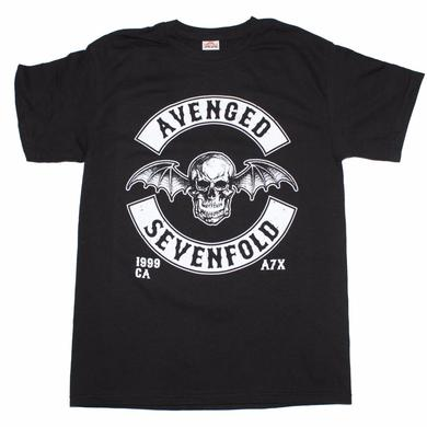 Avenged Sevenfold T Shirt | Avenged Sevenfold Deathbat Crest T-Shirt