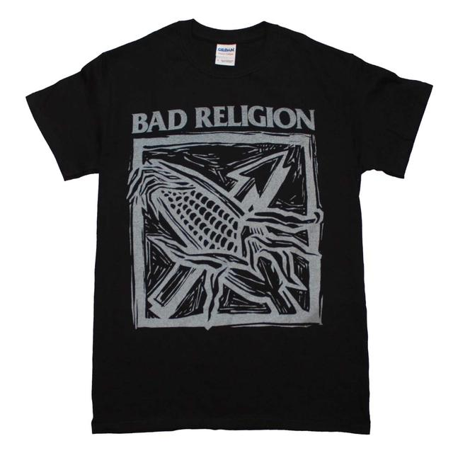 Bad Religion T Shirt | Bad Religion Against the Grain Black T-Shirt