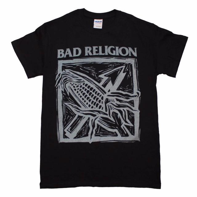 Bad Religion T Shirt | Bad Religion Against the Grain Black T-Shirt