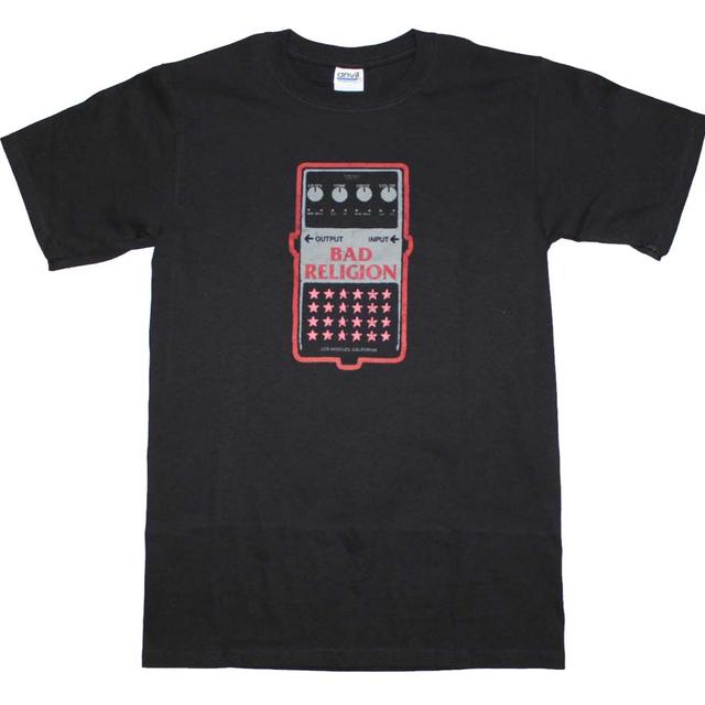 Bad Religion T Shirt | Bad Religion Guitar Pedal T-Shirt