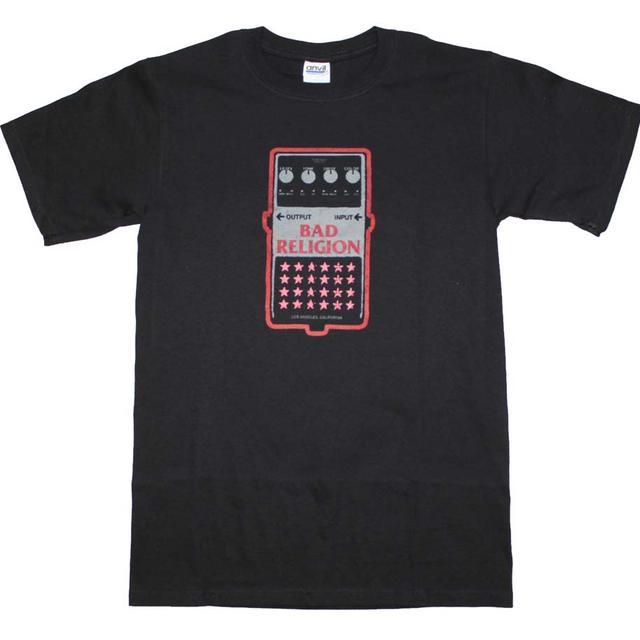 Bad Religion T Shirt   Bad Religion Guitar Pedal T-Shirt