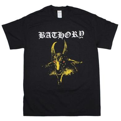 Bathory T Shirt | Bathory Yellow Goat T-Shirt