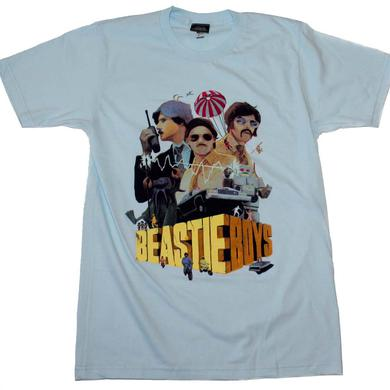 Beastie Boys T Shirt | Beastie Boys Criterion Blue T-Shirt