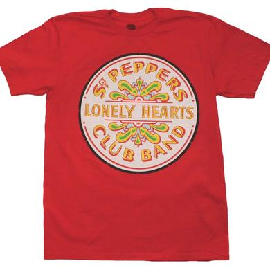 Beatles T Shirt   Beatles Sgt. Peppers Club Band Seal T-Shirt