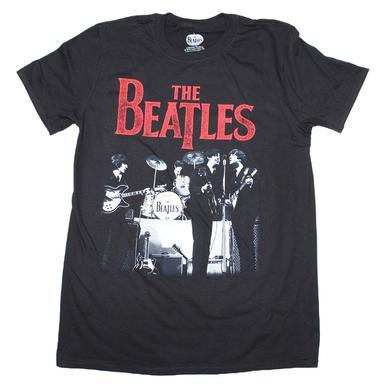 Beatles T Shirt | Beatles Stage Photo Logo T-Shirt