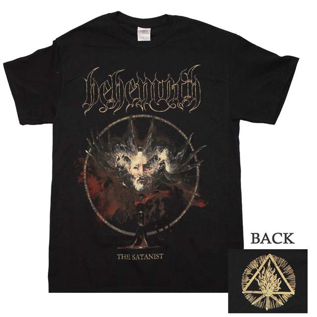 Behemoth T Shirt Behemoth The Satanist Cover Art T Shirt