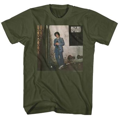 Billy Joel T Shirt | Billy Joel 52nd Street T-Shirt