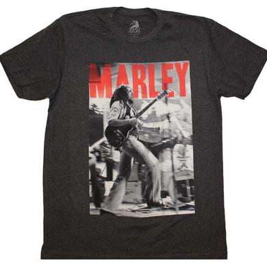 Bob Marley T Shirt | Bob Marley Catch a Fire Stage T-Shirt