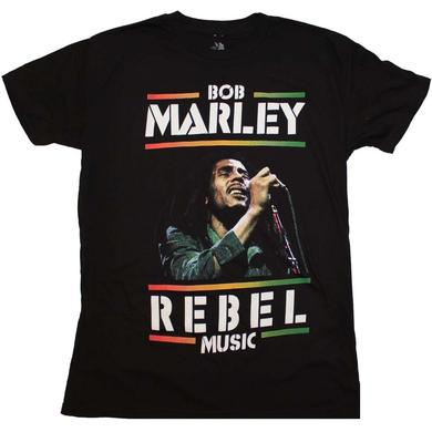 Bob Marley T Shirt | Bob Marley Rebel Music T-Shirt