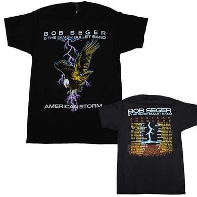 Bob Seger T Shirt | Bob Seger American Storm Soft T-Shirt