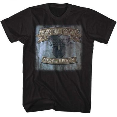 Bon Jovi T Shirt | Bon Jovi New Jersey T-Shirt