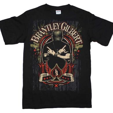 Brantley Gilbert T Shirt | Brantley Gilbert Crossed Arms T-Shirt