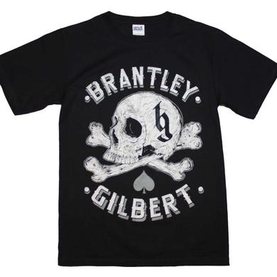 Brantley Gilbert T Shirt | Brantley Gilbert Skull T-Shirt