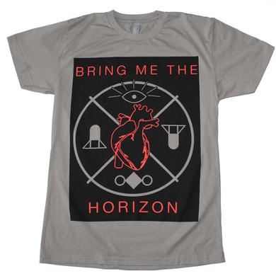 Bring me the Horizon T Shirt | Bring me the Horizon Heart and Symbols T-Shirt