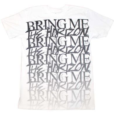 Bring Me the Horizon T Shirt | Bring me the Horizon Stacked Logo T-Shirt