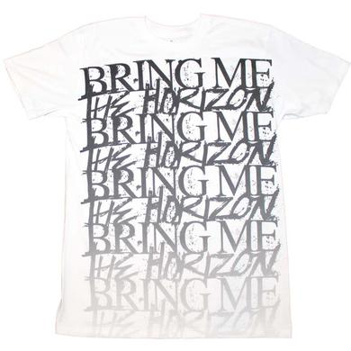 Bring Me the Horizon T Shirt | Bring me the Horizon Stacked Logo T-Shirt