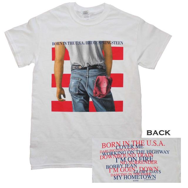 Bruce Springsteen T Shirt   Bruce Springsteen Born in the U.S.A. T-Shirt