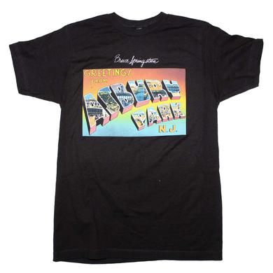 Bruce Springsteen T Shirt | Bruce Springsteen Greetings From Asbury Park T-Shirt