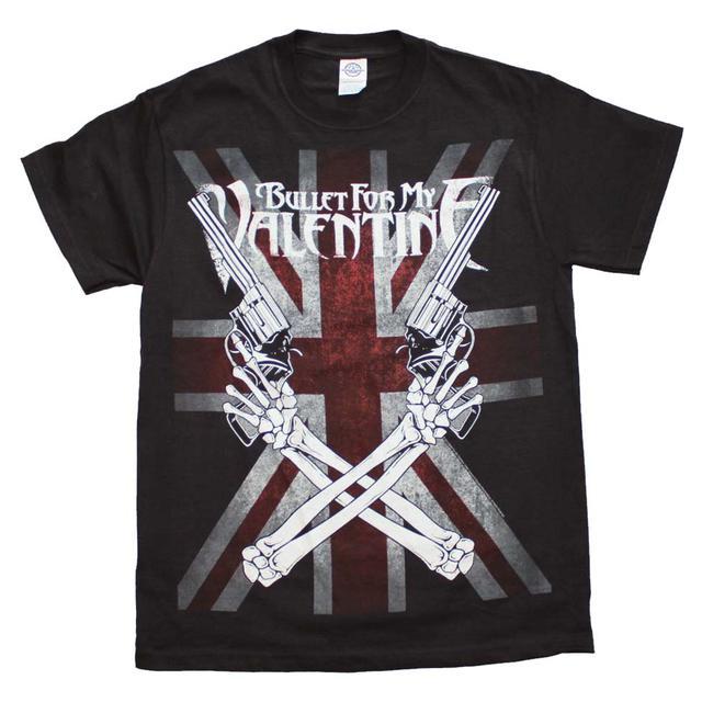 Bullet for my Valentine T Shirt   Bullet for my Valentine Crossed Guns T-Shirt
