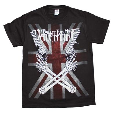 Bullet for my Valentine T Shirt | Bullet for my Valentine Crossed Guns T-Shirt