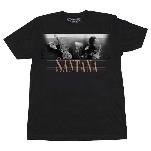Carlos Santana T Shirt   Carlos Santana Here and Then T-Shirt