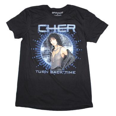 Cher T Shirt   Cher Turn Back T-Shirt
