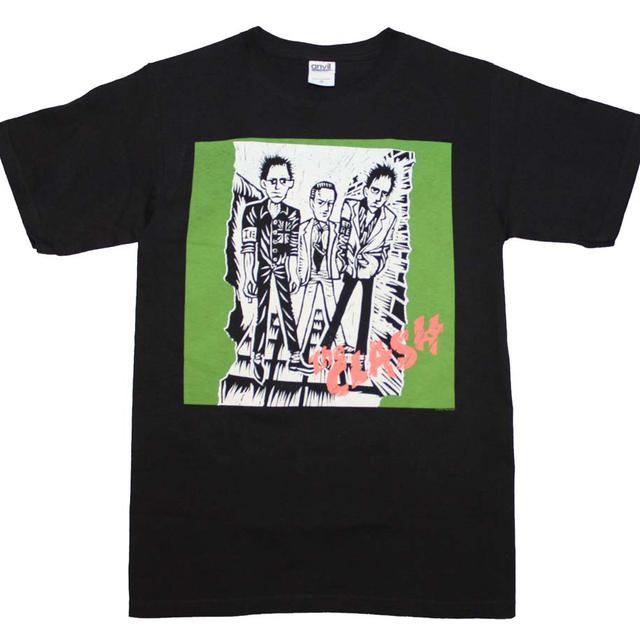 The Clash T Shirt   The Clash First Album Logo T-Shirt