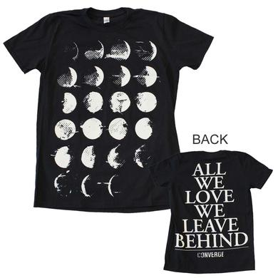 Converge T Shirt | Converge Moon Phase T-Shirt