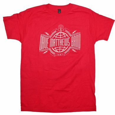 Dave Matthews Band T Shirt | Dave Matthews Band Radio Tower Soft T-Shirt