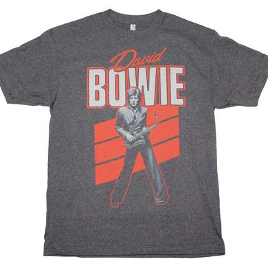 David Bowie T Shirt | David Bowie Red Sax T-Shirt