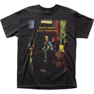 David Bowie T Shirt | David Bowie Ziggy Plays Guitar T-Shirt
