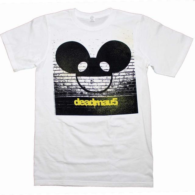 Deadmau5 T Shirt | Deadmau5 Brick Wall Logo T-Shirt