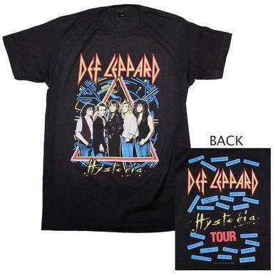 Def Leppard T Shirt | Def Leppard Hysteria Tour T-Shirt