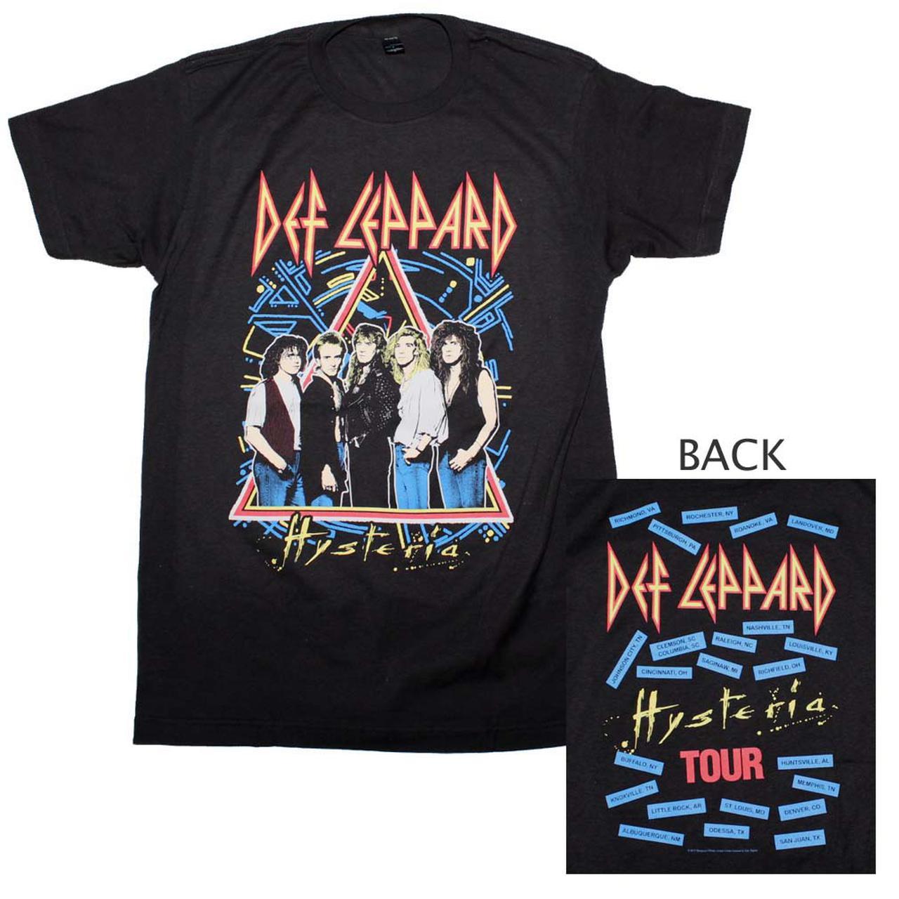 Def Leppard Hysteria Shirts : def leppard t shirt def leppard hysteria tour t shirt ~ Russianpoet.info Haus und Dekorationen