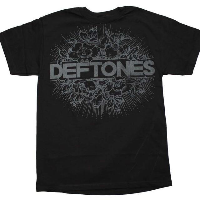 Deftones T Shirt   Deftones Floral Burst T-Shirt