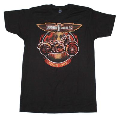 Doobie Brothers T Shirt | Doobie Brothers Motorcycle Tour T-Shirt