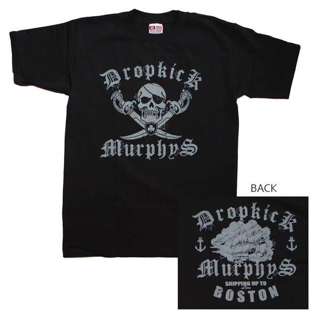 Dropkick Murphys T Shirt | Dropkick Murphys Jolly Roger T-Shirt