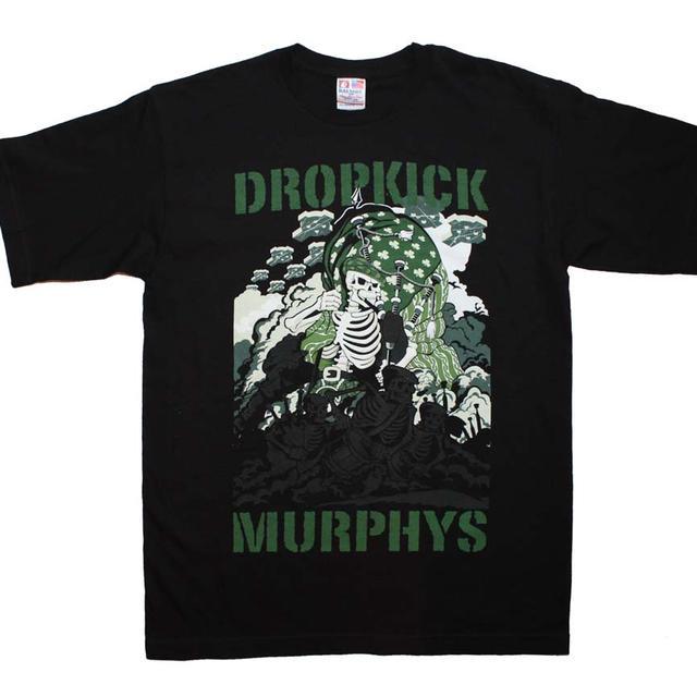 Dropkick Murphys T Shirt   Dropkick Murphys Piper Invasion T-Shirt