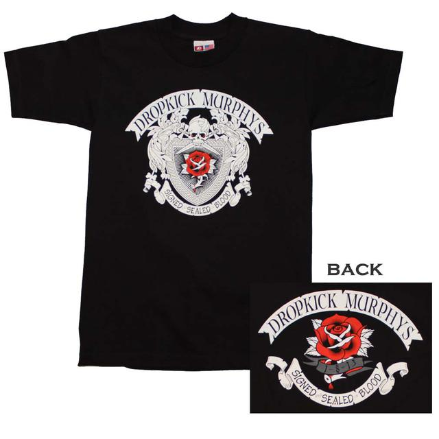 Dropkick Murphys T Shirt | Dropkick Murphys Signed and Sealed T-Shirt