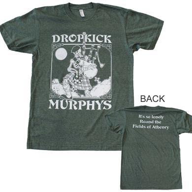 Dropkick Murphys T Shirt | Dropkick Murphys Vintage Skeleton T-Shirt