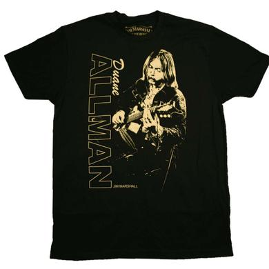Duane Allman T Shirt | Duane Allman Guitar Player T-Shirt