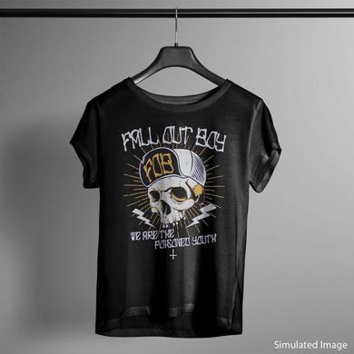 Fall Out Boy T Shirt | Fall Out Boy Poisoned Youth T-Shirt