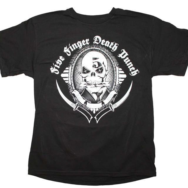 Five Finger Death Punch T Shirt | Five Finger Death Punch Get Cut T-Shirt