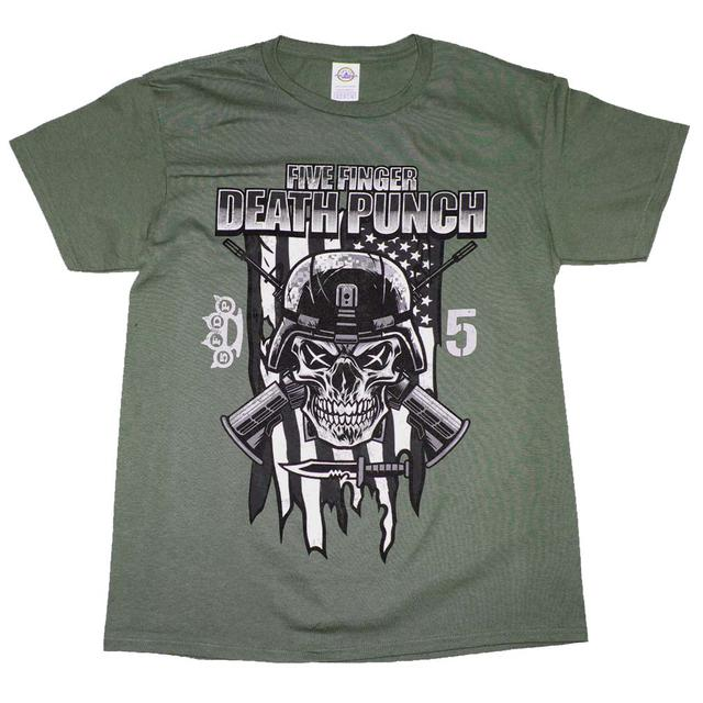 T Shirt Five Finger Punch Infantry Special Forces T Shirt